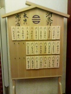 歌舞伎座の初日