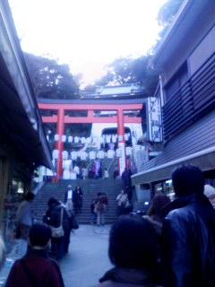 江島神社到着!