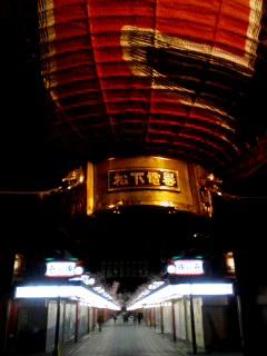 浅草雷門の提灯