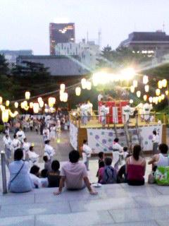 増上寺の盆踊り