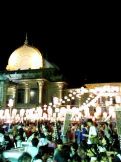 築地本願寺の盆踊り