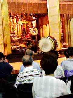 築地本願寺の盆踊り最終日