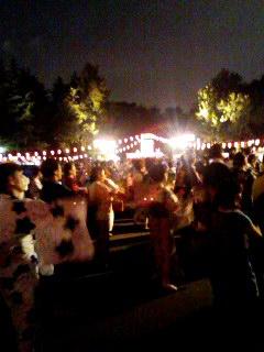 日比谷公園の盆踊り