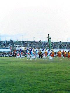 うるま市のエイサー祭り