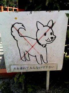 上加茂神社にて